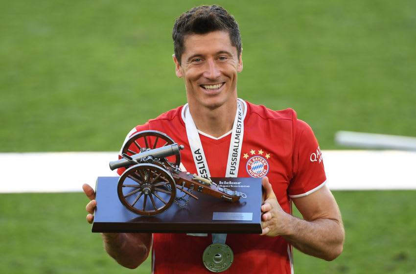 Robert Lewandowski, Bayern Munich. (Photo by Stuart Franklin/Getty Images)