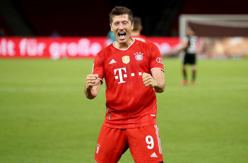 Robert Lewandowski, Bayern Munich. (Photo by Alexander Hassenstein/Getty Images)