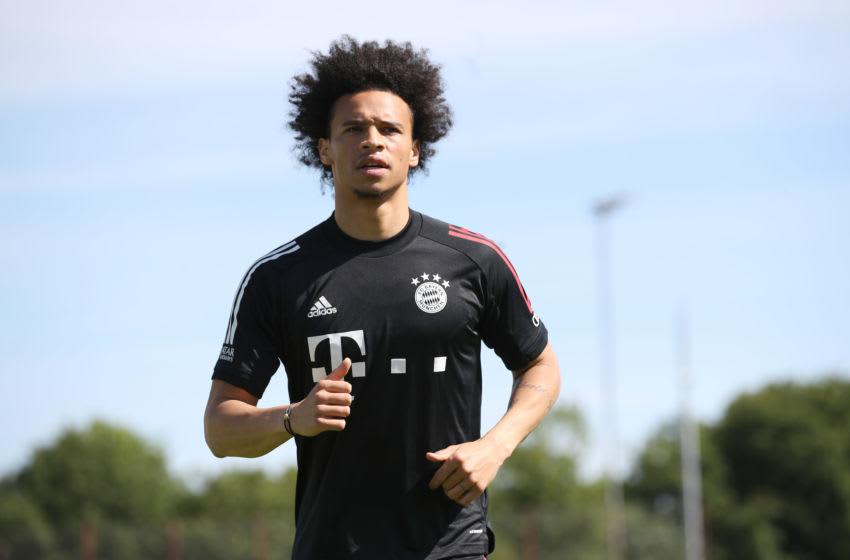 Leroy Sane, Bayern Munich. (Photo by Alexander Hassenstein/Getty Images)