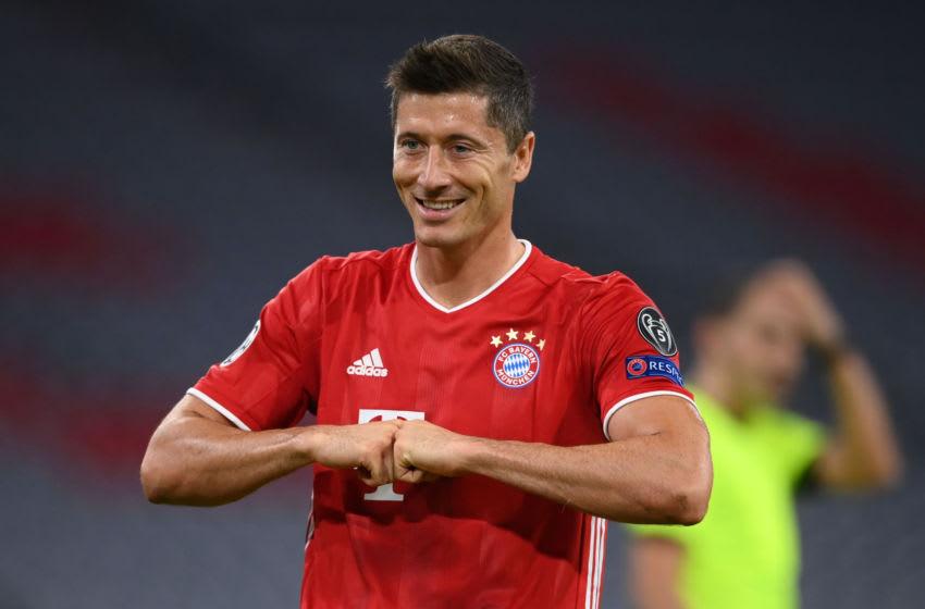 Robert Lewandowski, Bayern Munich. (Photo by Matthias Hangst/Getty Images)