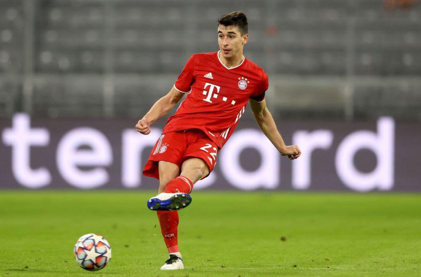 Bayern Munich midfielder Marc Roca showed glimpses of talent against Red Bull Salzburg. (Photo by Alexander Hassenstein/Getty Images)