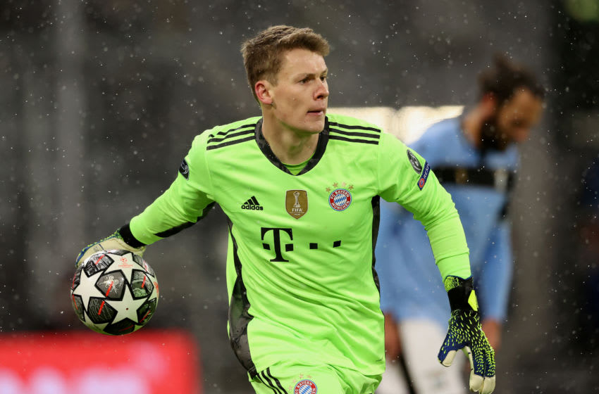 Bayern Munich goalkeeper Alexander Nubel wants to go out on loan for two seasons. (Photo by Alexander Hassenstein/Getty Images)
