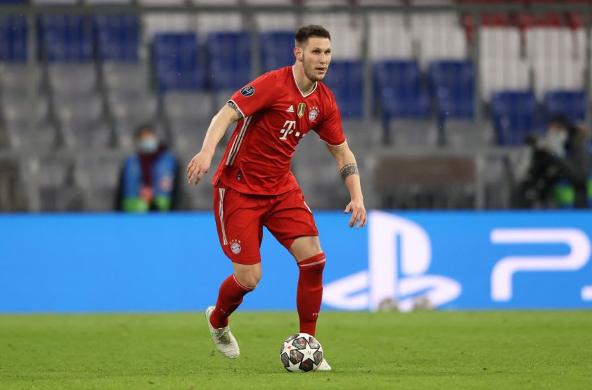 Bayern Munich defender Niklas Sule is yet to start complete training with German team, (Photo by Alexander Hassenstein/Getty Images)