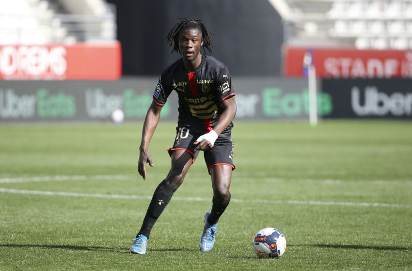 Bayern Munich intensify interest in Eduardo Camavinga. (Photo by John Berry/Getty Images)