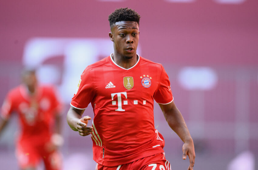 Christopher Scott could be part of first team squad at Bayern Munich next season. (Photo by Matthias Hangst/Getty Images)