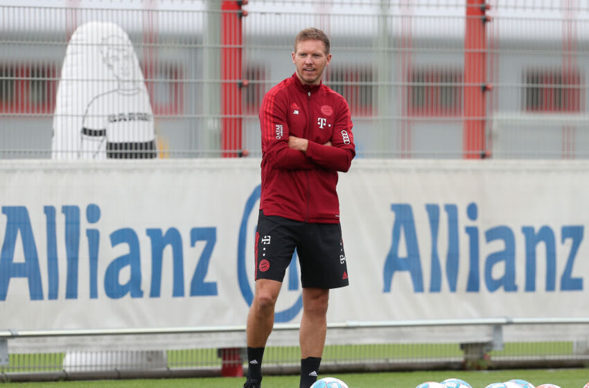 Julian Nagelsmann will be fine with a smaller squad at Bayern Munich for next season. (Photo by Alexandra Beier/Getty Images)