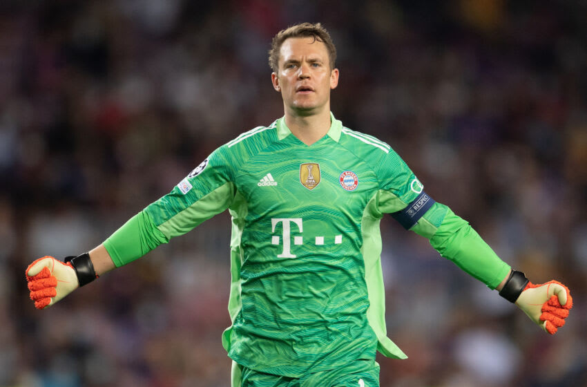 Bayern Munich captain Manuel Neuer wants a new deal. (Photo by David Ramos/Getty Images)