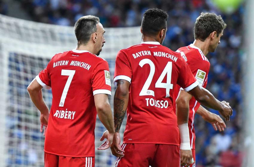 SINGAPORE - JULY 25: Franck Ribery