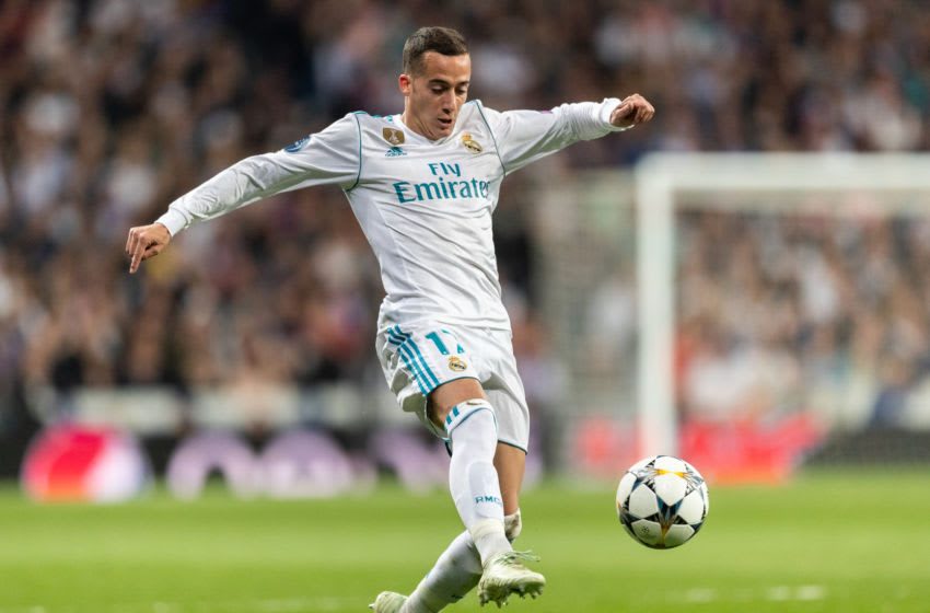 Bayern Munich fail to agree terms with Lucas Vazquez. (Photo by Boris Streubel/Getty Images)