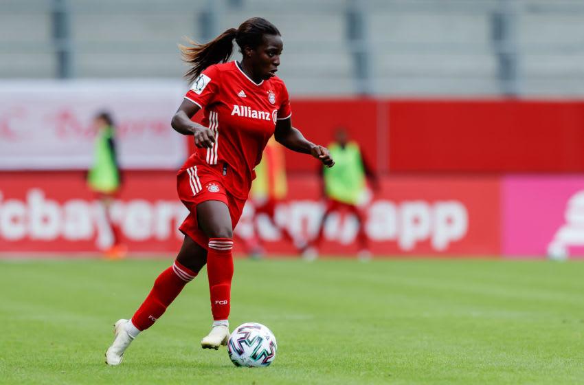 Viviane Asseyi, FC Bayern Munich Frauen. (Photo by Roland Krivec/DeFodi Images via Getty Images)