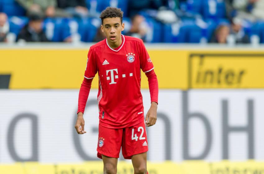 Jamal Musiala, FC Bayern Munich. (Photo by Mario Hommes/DeFodi Images via Getty Images)