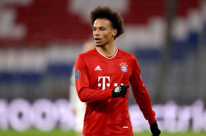 Leroy Sane, Bayern Munich.(Photo by Alexander Hassenstein/Getty Images)