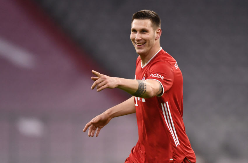 Niklas Sule was on the scoresheet for Bayern Munich against Mainz.(Photo by Lukas Barth-Tuttas - Pool/Getty Images)