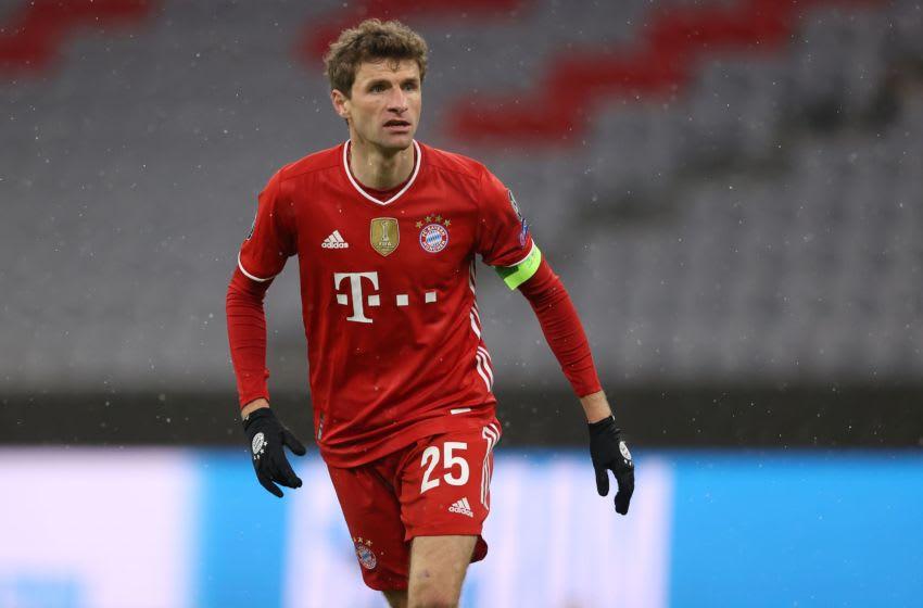 Bayern Munich forward Thomas Muller is enjoying another brilliant Bundesliga season. (Photo by Alexander Hassenstein/Getty Images)