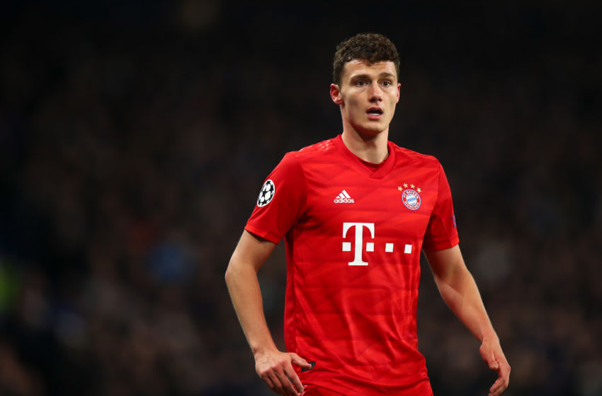 Benjamin Pavard, Bayern Munich. (Photo by Robbie Jay Barratt - AMA/Getty Images)