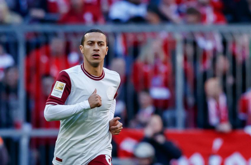 Thiago Alcantara, Bayern Munich. (Photo by Roland Krivec/DeFodi Images via Getty Images)