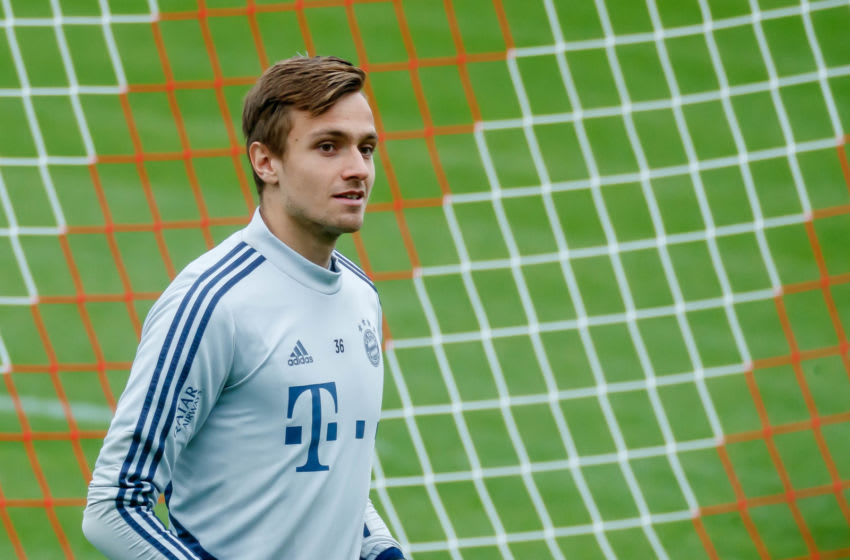 Christian Fruchtl, Bayern Munich. (Photo by Roland Krivec/DeFodi Images via Getty Images)