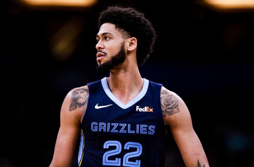 Tyler Dorsey Memphis Grizzlies (Photo by Harry Aaron/Getty Images)