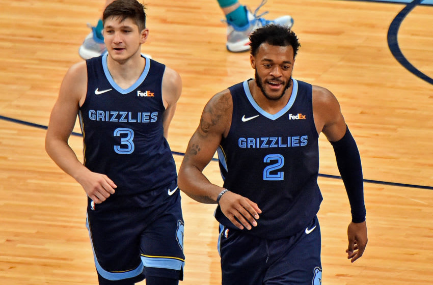 Xavier Tillman, Memphis Grizzlies (Photo by Justin Ford/Getty Images)