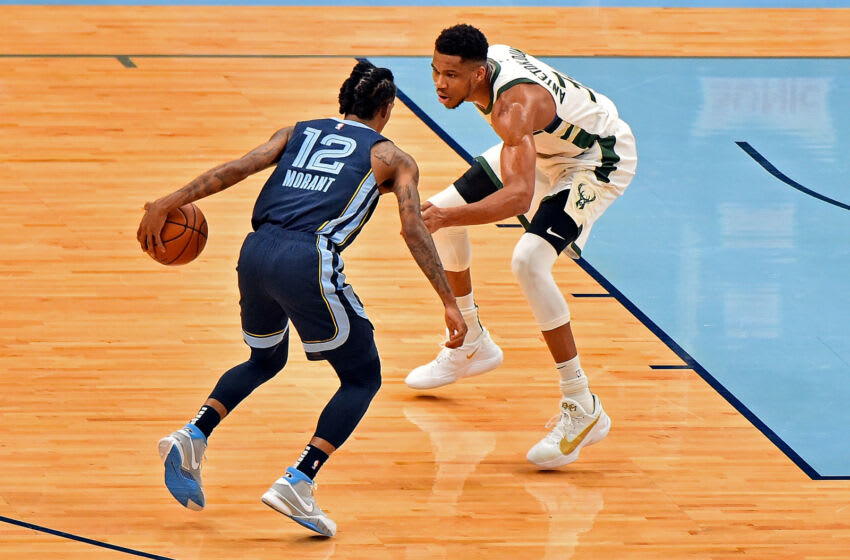 Ja Morant, Memphis Grizzlies (Photo by Justin Ford/Getty Images)