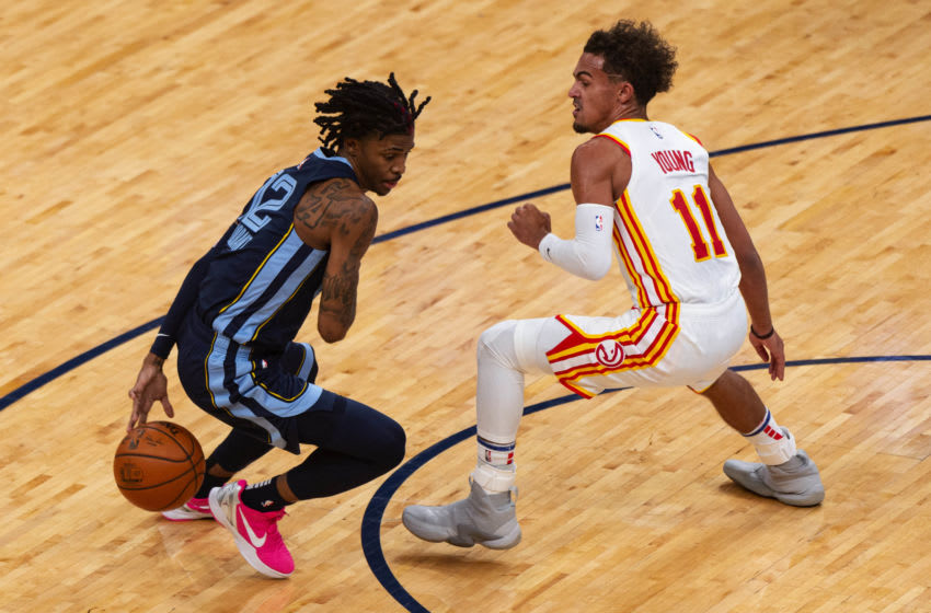Ja Morant, Memphis Grizzlies Mandatory Credit: Justin Ford-USA TODAY Sports