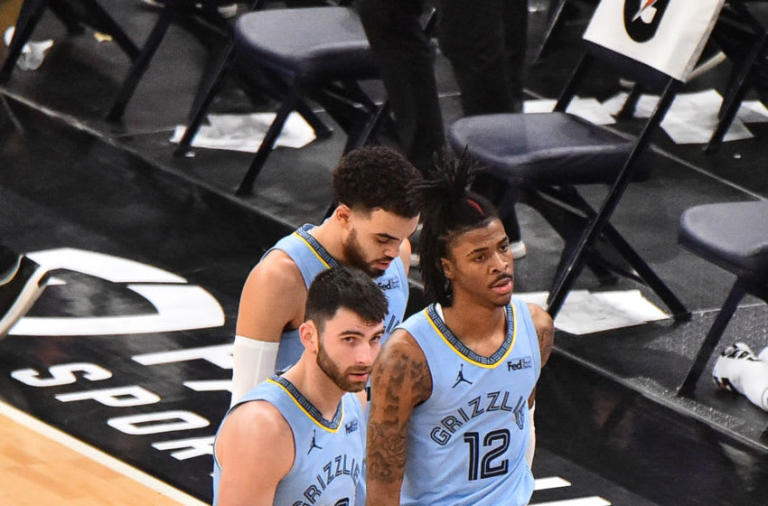 Ja Morant, Memphis Grizzlies Mandatory Credit: Justin Ford-USA TODAY Sports