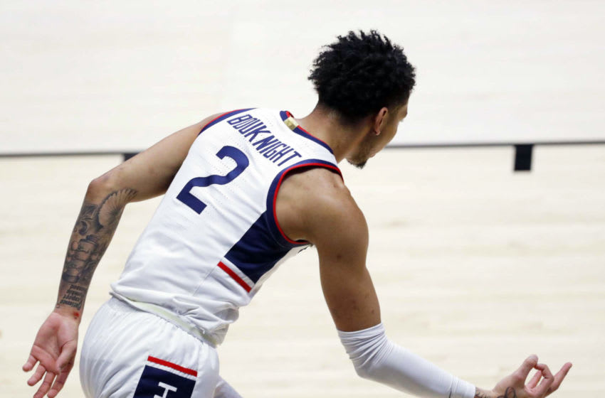 James Bouknight, UConn Huskies Mandatory Credit: Robert Scheer/Indy Star via USA TODAY Sports