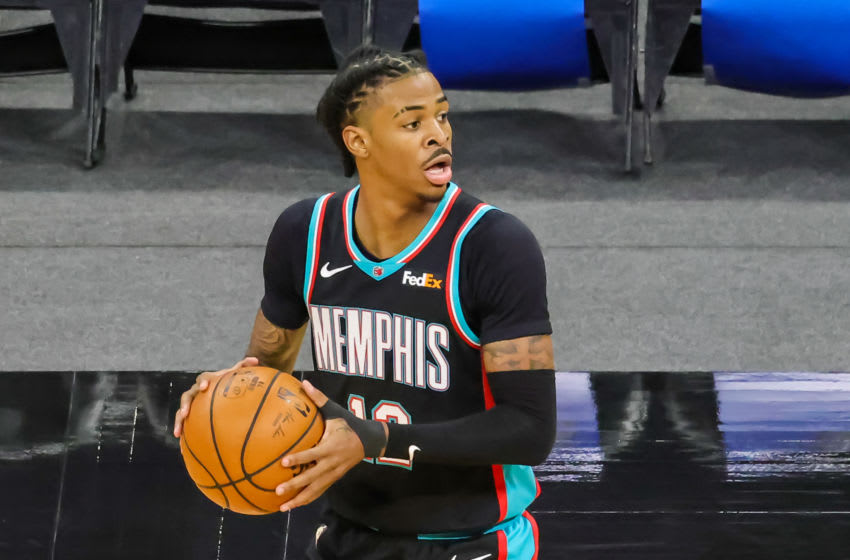 Ja Morant, Memphis Grizzlies Mandatory Credit: Mike Watters-USA TODAY Sports