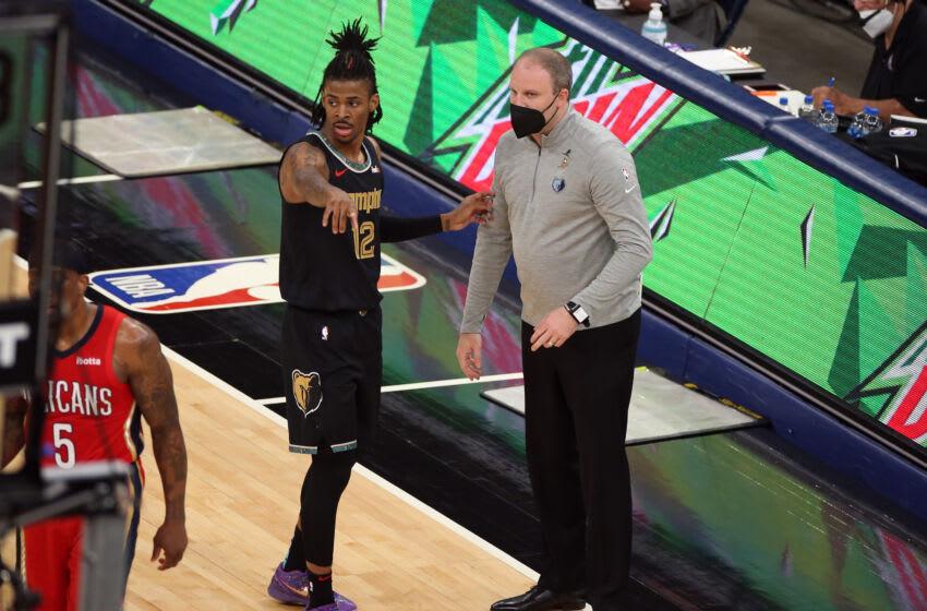 Taylor Jenkins, Memphis Grizzlies Mandatory Credit: Petre Thomas-USA TODAY Sports