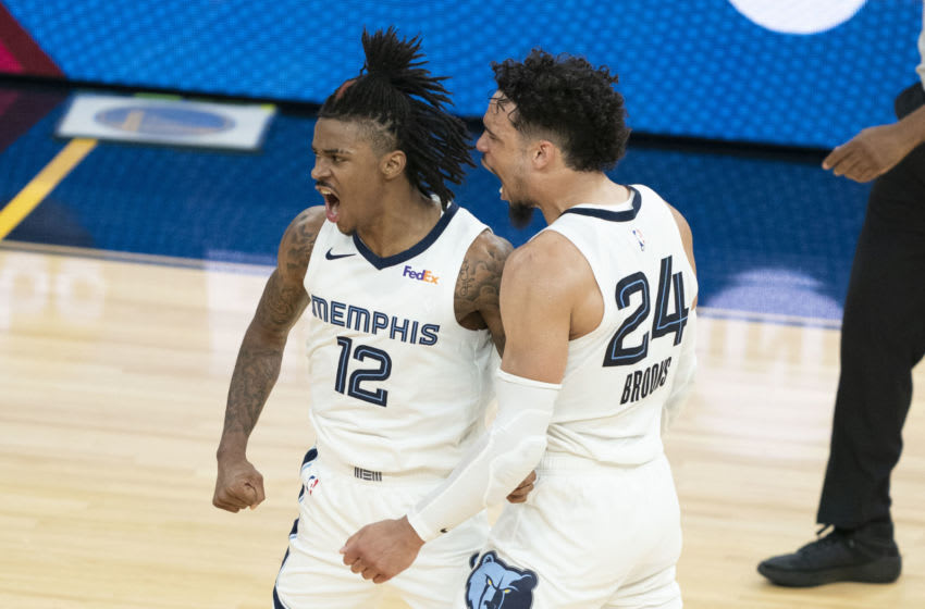 Ja Morant, Memphis Grizzlies Mandatory Credit: Kyle Terada-USA TODAY Sports