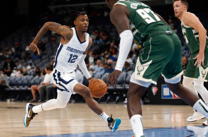 Ja Morant, Memphis Grizzlies Mandatory Credit: Petre Thomas-USA TODAY Sports