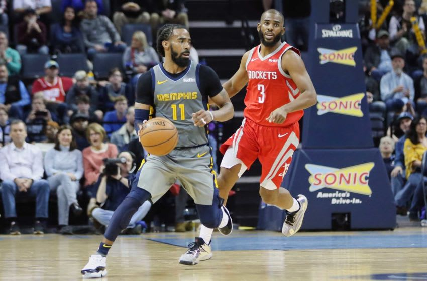 Mike Conley, Memphis Grizzlies Mandatory Credit: Nelson Chenault-USA TODAY Sports