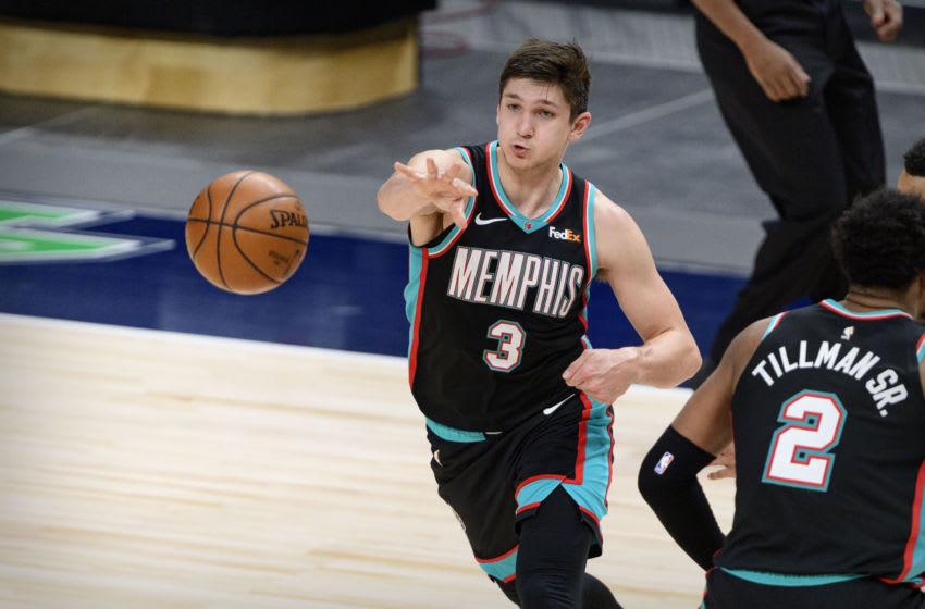 Grayson Allen, Memphis Grizzlies Mandatory Credit: Jerome Miron-USA TODAY Sports