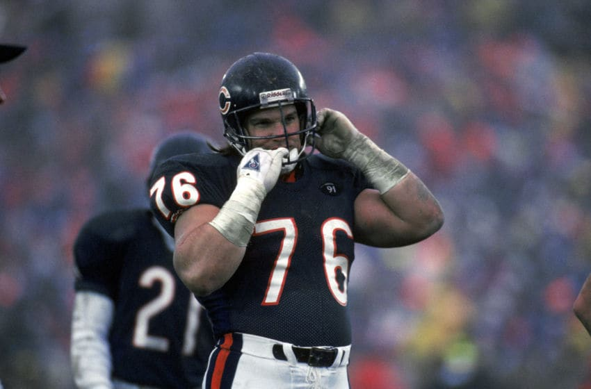 Steve McMichael, Chicago Bears. (Photo by Jonathan Daniel/Getty Images)