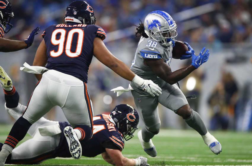 DETROIT, MI - DECEMBER 16: Detroit Lions running back Tion Green