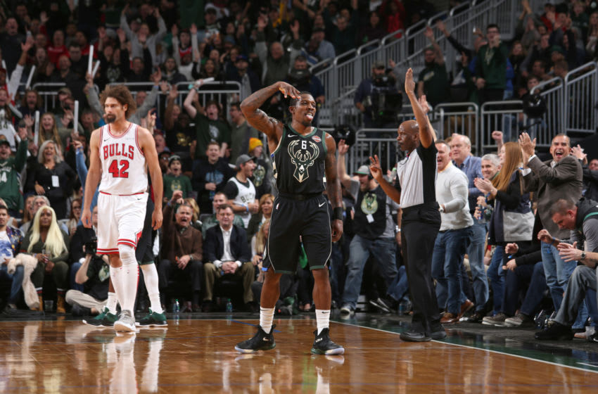 MILWAUKEE, WI - NOVEMBER 16: (Photo by Gary Dineen/NBAE via Getty Images)