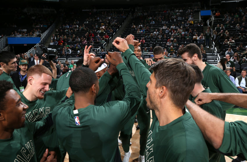 MILWAUKEE, WI - OCTOBER 9: (Photo by Gary Dineen/NBAE via Getty Images).