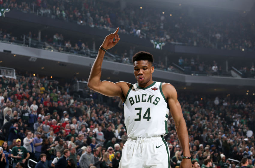 MILWAUKEE, WI - JANUARY 1 Copyright 2020 NBAE (Photo by Gary Dineen/NBAE via Getty Images).