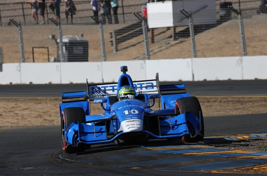 Chip Ganassi Racing's Tony Kanaan on track at the 2016 GoPro Grand Prix of Sonoma. Photo Credit: Chris Jones/Courtesy of IndyCar