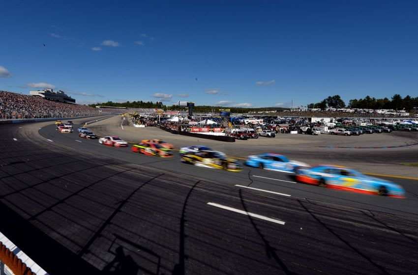 Sep 25, 2016; Loudon, NH, USA; A general view of the New Hampshire Motor Speedway during the New England 300. Mandatory Credit: Brian Fluharty-USA TODAY Sports