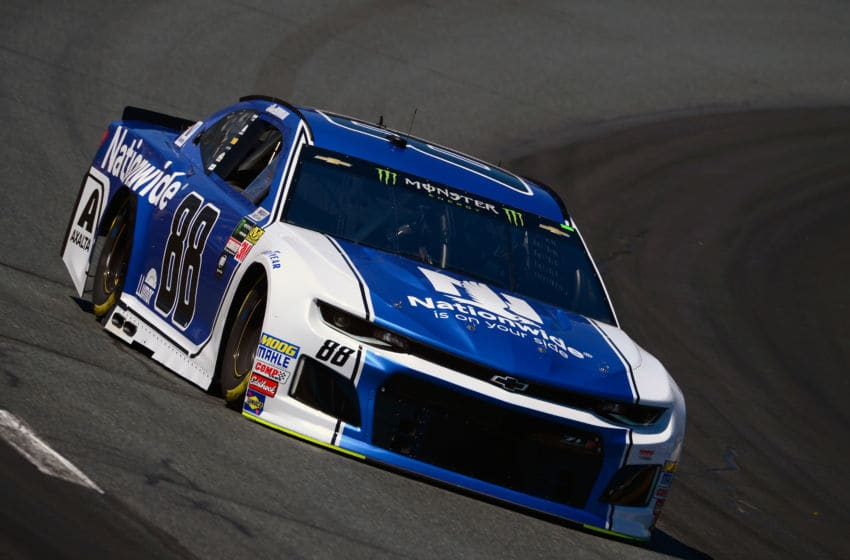 LOUDON, NH - JULY 20: Alex Bowman, driver of the #88 Nationwide Chevrolet (Photo by Robert Laberge/Getty Images)