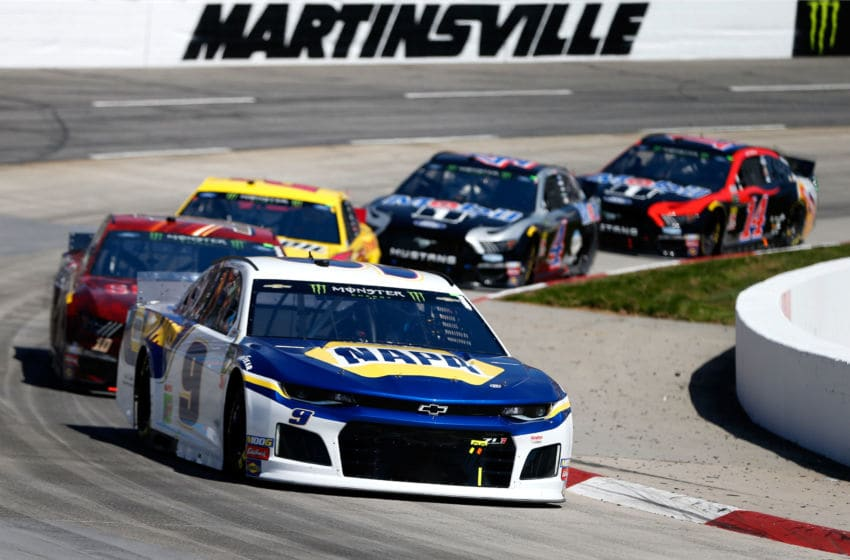 Chase Elliott, Hendrick Motorsports, Martinsville Speedway, NASCAR, Cup Series (Photo by Brian Lawdermilk/Getty Images)