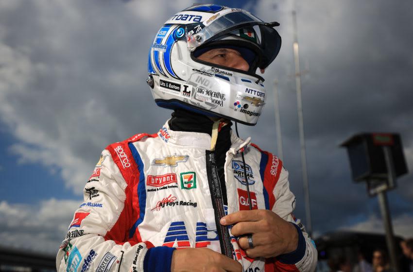 Tony Kanaan, A.J. Foyt Enterprises, Texas Motor Speedway, IndyCar (Photo by Chris Graythen/Getty Images)