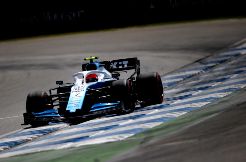 HOCKENHEIM, GERMANY - JULY 27: Robert Kubica of Poland driving the (88) Rokit Williams Racing FW42 Mercedes on track during qualifying for the F1 Grand Prix of Germany at Hockenheimring on July 27, 2019 in Hockenheim, Germany. (Photo by Charles Coates/Getty Images)