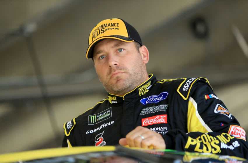 CHARLOTTE, NORTH CAROLINA - SEPTEMBER 27: Ryan Newman, driver of the #6 Performance Plus Ford, during practice for the Monster Energy NASCAR Cup Series Bank of America ROVAL 400 at Charlotte Motor Speedway on September 27, 2019 in Charlotte, North Carolina. (Photo by Streeter Lecka/Getty Images)