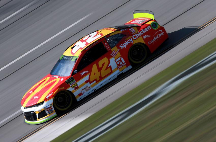 Kyle Larson, Chip Ganassi Racing, NASCAR (Photo by Sean Gardner/Getty Images)