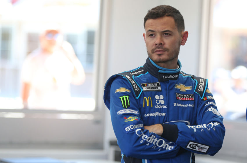 Kyle Larson, Chip Ganassi Racing, NASCAR (Photo by Matt Sullivan/Getty Images)