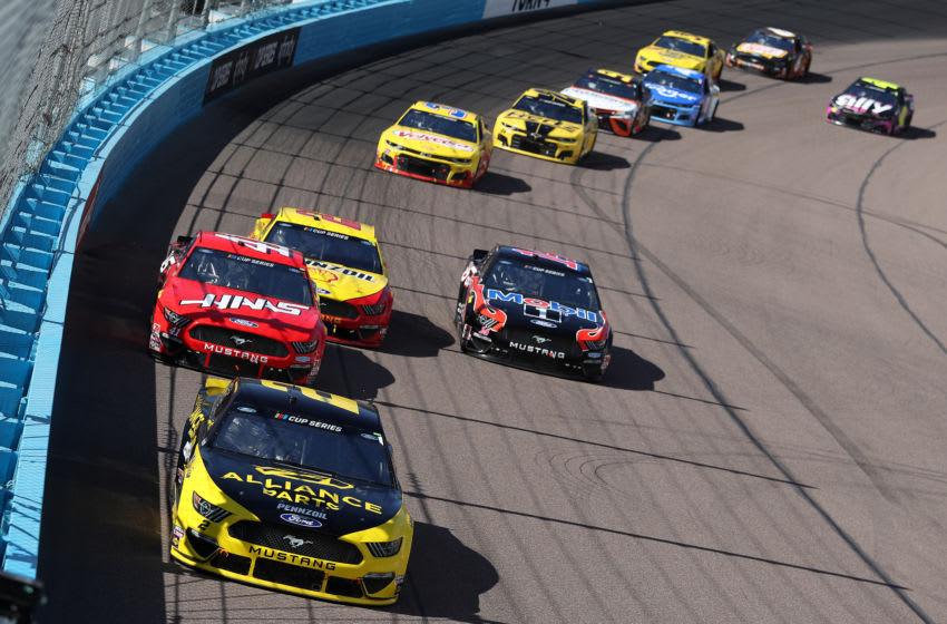 Brad Keselowski, Team Penske, NASCAR (Photo by Chris Graythen/Getty Images)