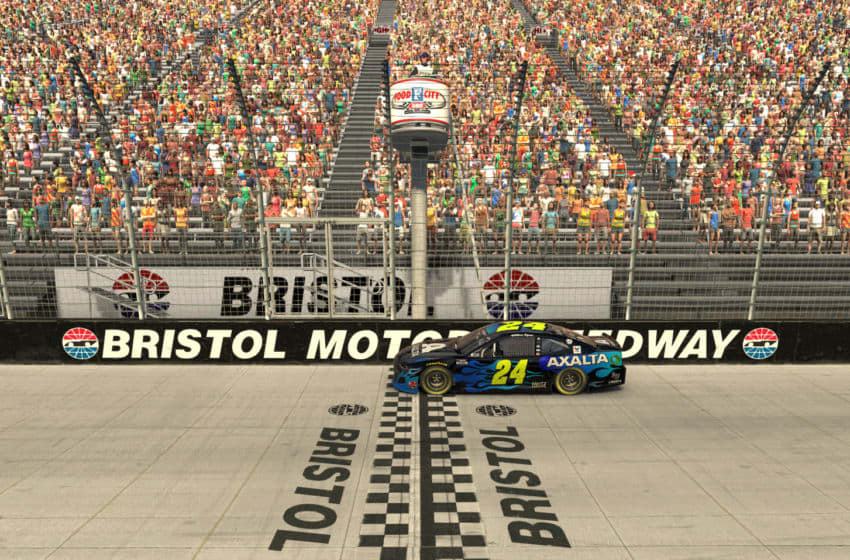 (Editors note: This image was computer generated in-game) William Byron, Hendrick Motorsports, iRacing, NASCAR (Photo by Chris Graythen/Getty Images)
