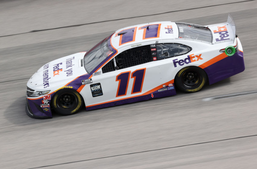 Denny Hamlin, Joe Gibbs Racing, Darlington Raceway, NASCAR, Cup Series (Photo by Chris Graythen/Getty Images)